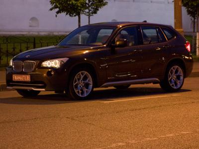BMW X1. Фото Владимира Лебедева с сайта finamauto.ru