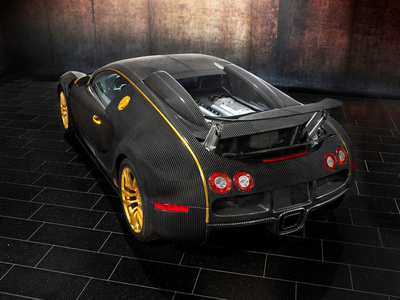 Mansory Bugatti Veyron Linea Vincero dOro. Фото Mansory