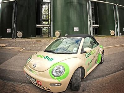 VW Beetle Bio-Bug. Фото с сайта geneco.uk.com