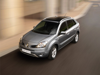 Renault Koleos. Фото Renault