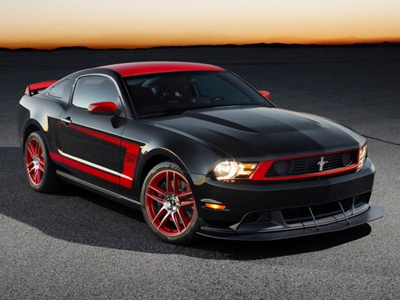 Mustang GT Boss. Фото Ford