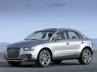 Audi Cross Coupe Concept. Фото Audi