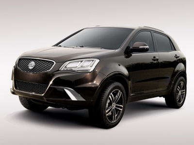 SsangYong New Actyon. Фото SsangYong