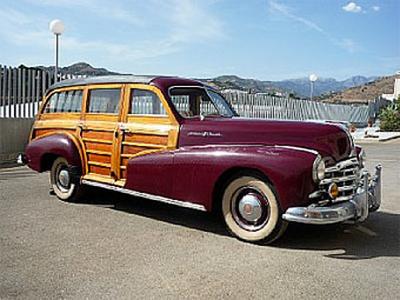 "Pontiac Streamliner ""Woodie"" 1948 года выпуска. Фото Bonhams"
