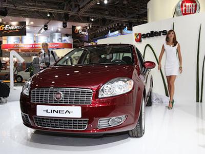 Fiat Linea российской сборки. Фото Ленты.ру