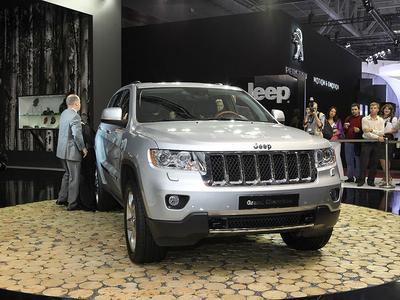Jeep Grand Cherokee. Фото Ленты.ру