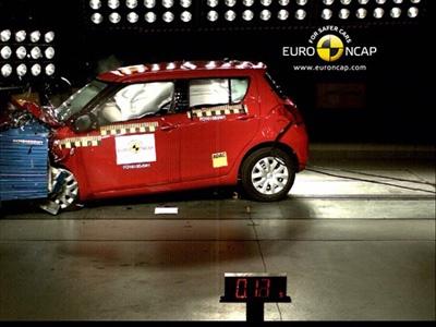 Краш-тест Suzuki Swift. Фото EuroNCAP