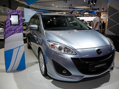 Новая Mazda 5. Фото ВГТРК