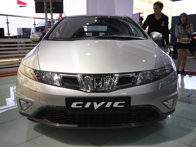 Рестайлинговый Honda Civic. Фото Ленты.ру