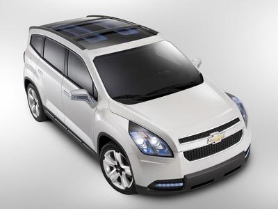 Chevrolet Orlando Concept. Фото Chevrolet