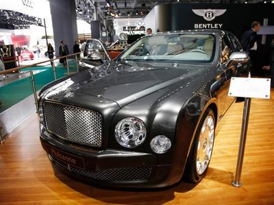 Bentley Mulsanne. Фото Павла Блюденова, Авто.Вести.Ru