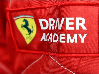 Фрагмент фото Ferrari