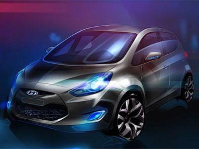 Hyundai iX20. Иллюстрация Hyundai