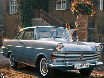 Opel Rekord P2. Фото Opel