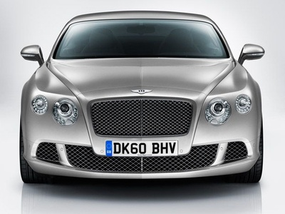 Обновленный Bentley Continental GT. Фото Bentley