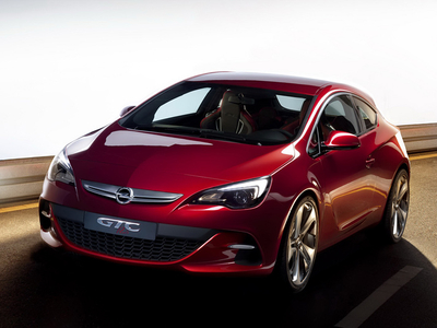 Opel Astra GTC Paris. Фото Opel