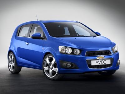 Новый Chevrolet Aveo. Фото Chevrolet