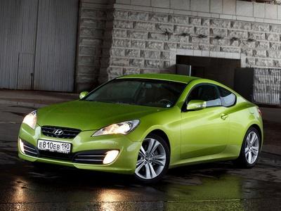Hyundai Genesis Coupe. Фото Павла Блюденова, Авто.Вести.Ru