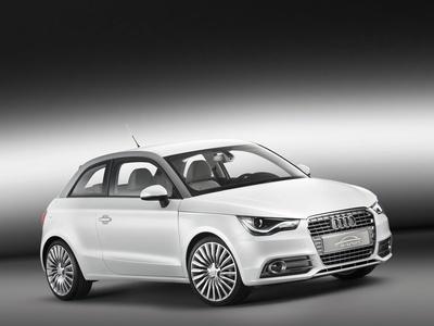 Audi A1 e-Tron Concept. Фото Audi