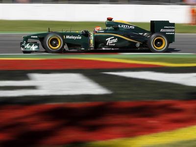 Ярно Трулли. Фото Lotus Racing