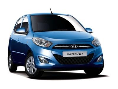 Hyundai i10. Фото Hyundai