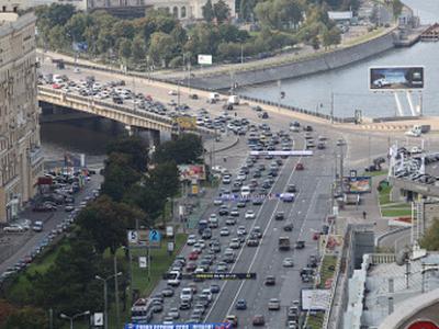 """Ф""""День без автомобилей"""" в 2009 году. Фото Антона Уханова, Лента.ру"""