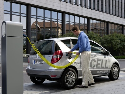 Mercedes-Benz A-Class E-Cell. Фото Mercedes-Benz