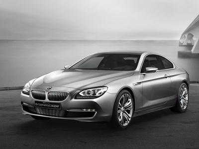 BMW 6-Series Coupe Concept. Фото BMW