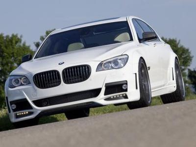 BMW 7 Series от Lumma Design. Фото Lumma Design