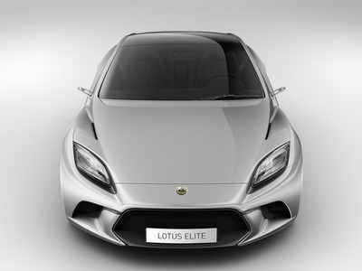 Lotus Elite. Иллюстрации Lotus
