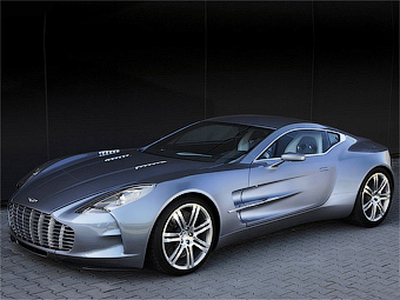 Aston Martin One-77. Фото Aston Martin