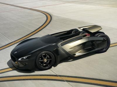 Peugeot EX1 Concept. Фото Peugeot