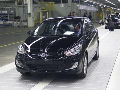 Hyundai Solaris. Фото Авто.Ленты