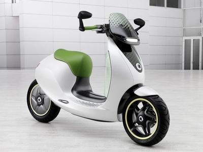 Smart eScooter Concept. Фото Smart