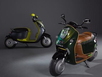 Mini Scooter E Concept. Фото Mini