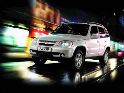 Chevrolet Niva. Фото GM-AVTOVAZ