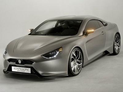 Furtive e-GT. Фото Exagon Motors