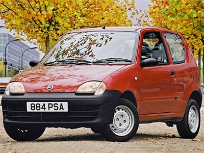 Fiat Seicento образца 2002 года. Фото с сайта fiatclub.eu