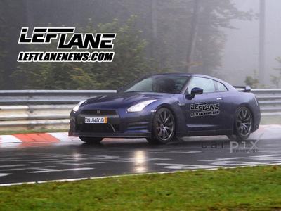 Новый Nissan GT-R. Фото с сайта leftlanenews.com