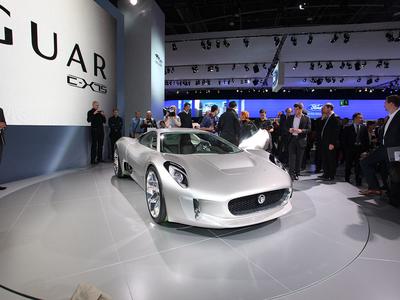 Jaguar C-X75. Фото Ленты.ру