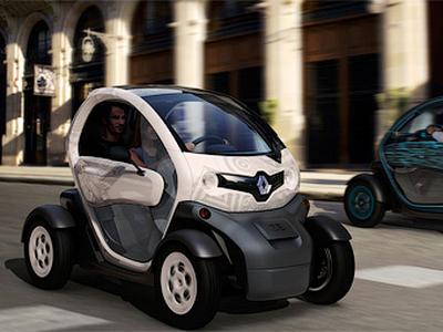 Renault Twizy. Фото Renault