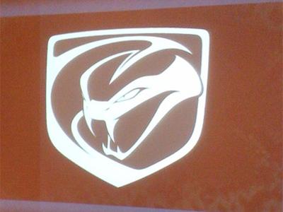 Новый логотип Dodge Viper. Фото с сайта dragtimes.com
