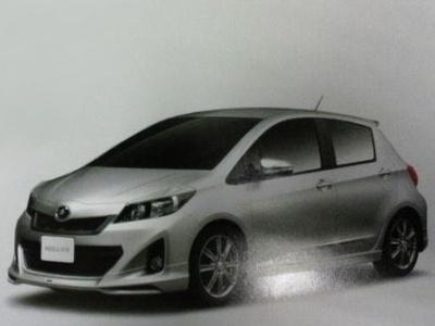 Новый Toyota Yaris/Vitz. Изображение с сайта autosblog.fr