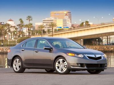 Acura TSX. Фото Acura