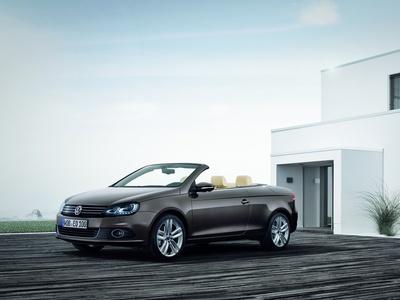 Новый Volkswagen Eos. Фото Volkswagen