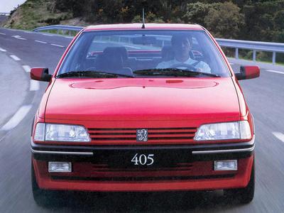 Peugeot 405. Фото Peugeot