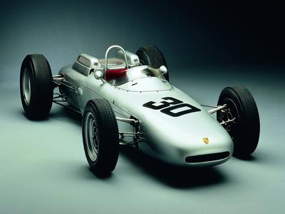 Porsche 804 — болид Формулы-1, построенный для участия в чемпионате мира 1962 года. Фото Porsche