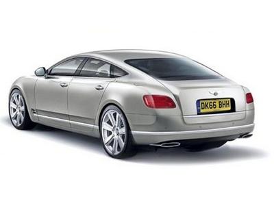 """Предполагаемая внешность """"четырехдверного купе"""" Bentley. Иллюстрация с сайта autoexpress.co.uk"""