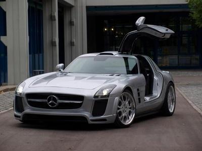 Mercedes-Benz SLS AMG от FAB Design. Фото FAB Design