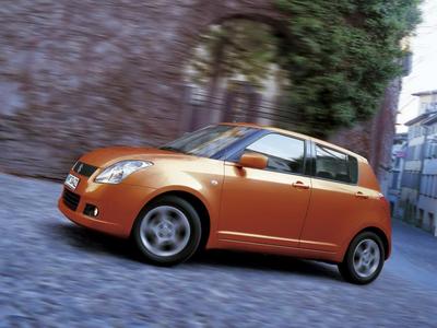 Suzuki Swift. Фото Suzuki